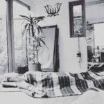 Savasana yoga pose at home